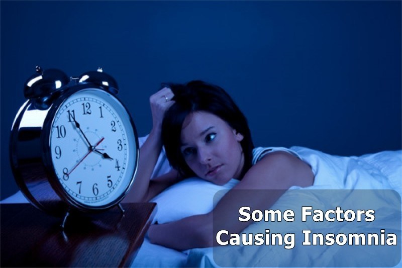 suffering from insomnia causes